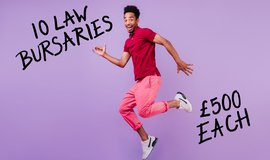 Apply for one of our x10 LLM & law bursaries