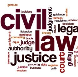 subjects of civil law In civil litigation, contract and tort claims are by far the most numerous the law attempts to adjust for harms done by awarding damages to a successful plaintiff who demonstrates that the.