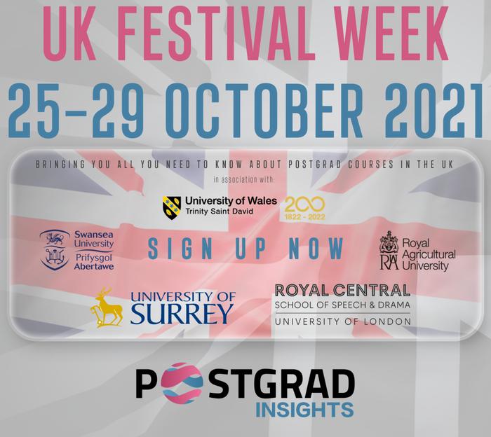 Postgrad.com UK Festival Week